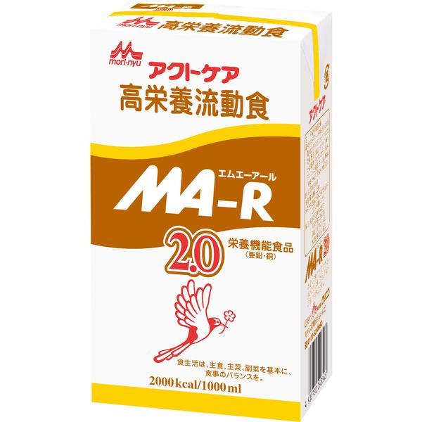 あす楽対応 森永 クリニコMA‐R2.0 紙パック 流動食1000ml(2000kcal)×6個バナナ風味 経管栄養