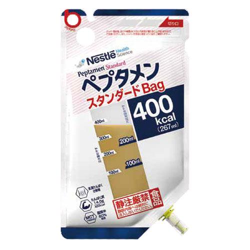 ネスレ ペプタメン スタンダード Bag Peptamen400kcal/267ml18個入りバッグタイプたんぱく質源は乳清(ホエイ)ペプチド