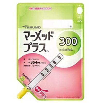 【返品不可】テルモ マーメッドプラス300 液状400ml(300kcal)×18個経管栄養 水分量118g/100kcal