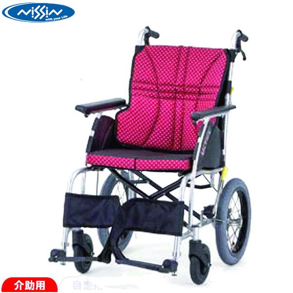 日進医療器介助用車椅子ULTRA ウルトラNAH-U1 NAH-U1ノーパンクタイヤ エアリータイプ介助式 車いす 車イス送料無料発送 代引き不可