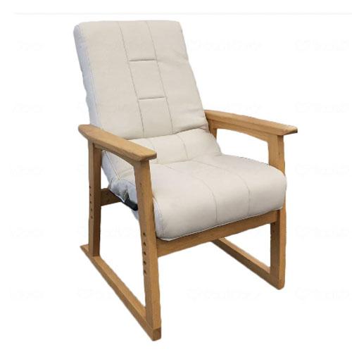 [直送品]W288102 明光ホームテック 円背椅子やすらぎ2 アイボリー NOEC-リヨン[直送品以外と同梱不可]