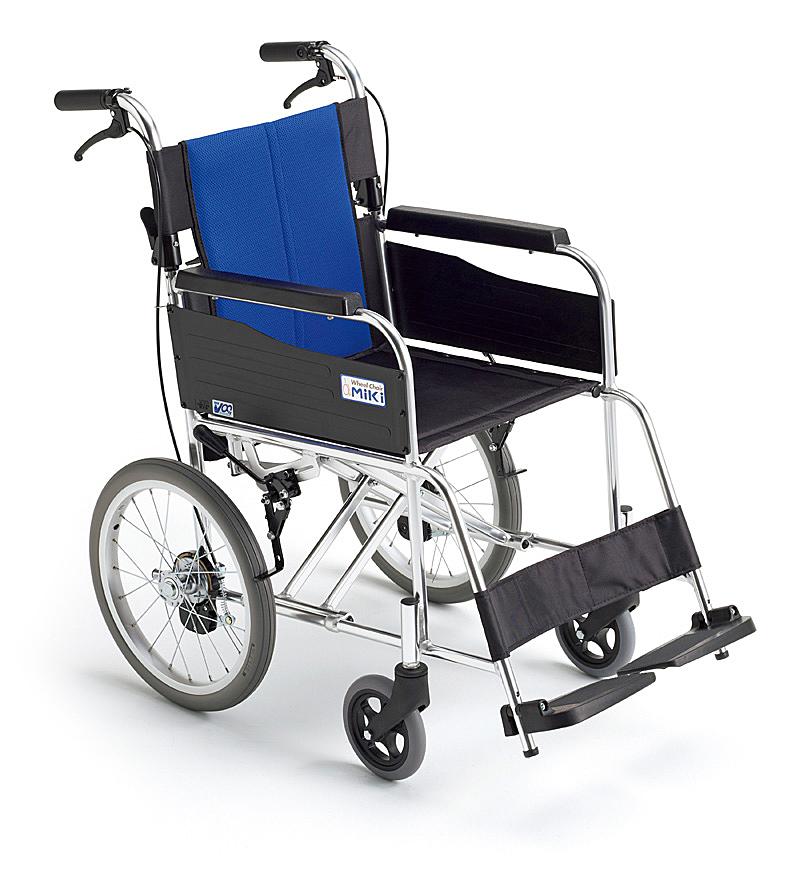 介助型 車いすBAL-2BAL-2BALバルシリーズMIKI 株式会社ミキ車イス 車椅子代引き不可