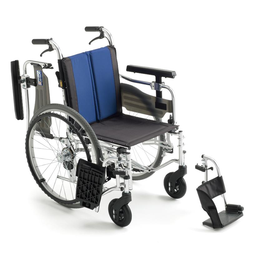 自走型 車いすBAL-5BAL-5バルシリーズMIKI 株式会社ミキ車イス 車椅子代引き不可