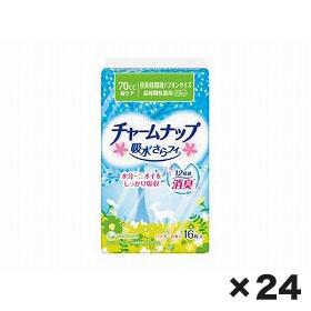 ユニチャーム チャ-ムナップ長時間快適用 1ケース(16枚×24個)
