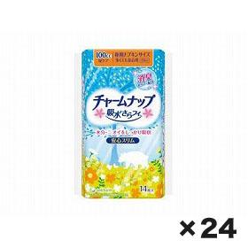 ユニチャーム チャ-ムナップ多くても安心用 1ケース(14枚×24個)