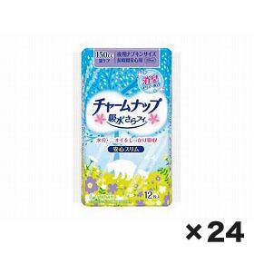 ユニチャーム チャ-ムナップ長時間安心用 1ケース(12枚×24個)