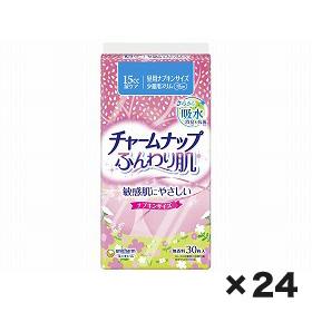 ユニチャーム チャ-ムナップふんわり肌少量用 1ケース(30枚×24個)