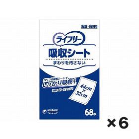 ユニチャーム 業務用 Gライフリ-吸収シ-ト 1ケース(68枚×6個)