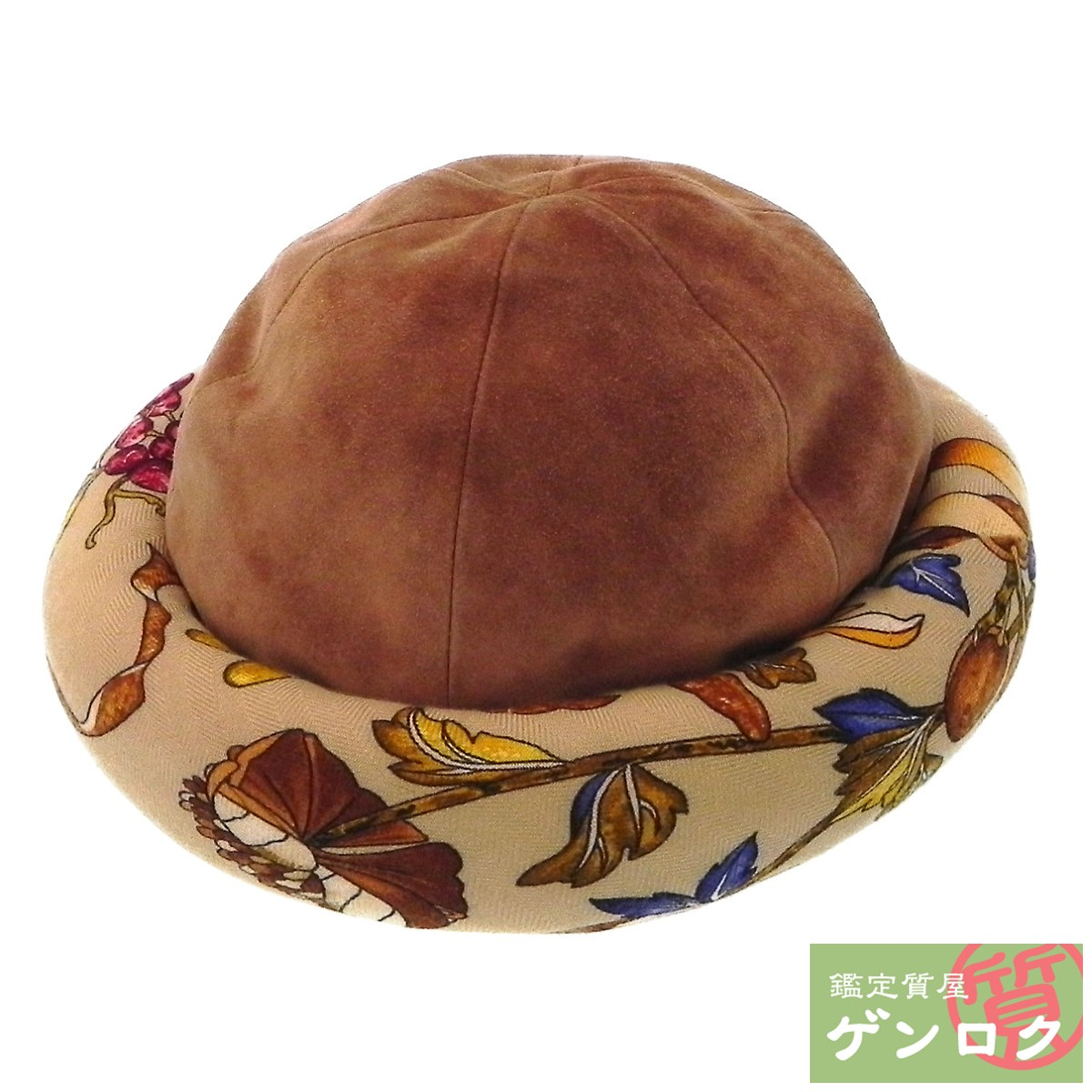 【中古】エルメス MOTSCH キャメル ブラウン 帽子 HERMES【質屋】【代引き手数料無料】