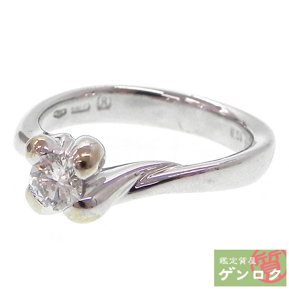 【中古】ダミアーニ ダイヤモンド リング K18イエローゴールド K18YG 750 シルバー 指輪 Damiani【質屋】【代引き手数料無料】