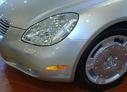 ソアラUZZ40 LEXUS SC430 フロントサイドマーカーランプ