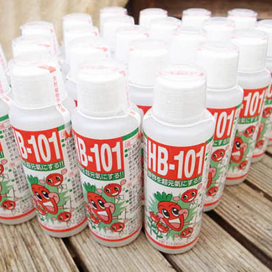HB 101 植物を超元気にする肥料HB-101 100cc 25本セット 送料無料 天然植物活力剤 杉 桧 松 オオバコより抽出した天然栄養液 ガーデニング【ラッキーシール対応】