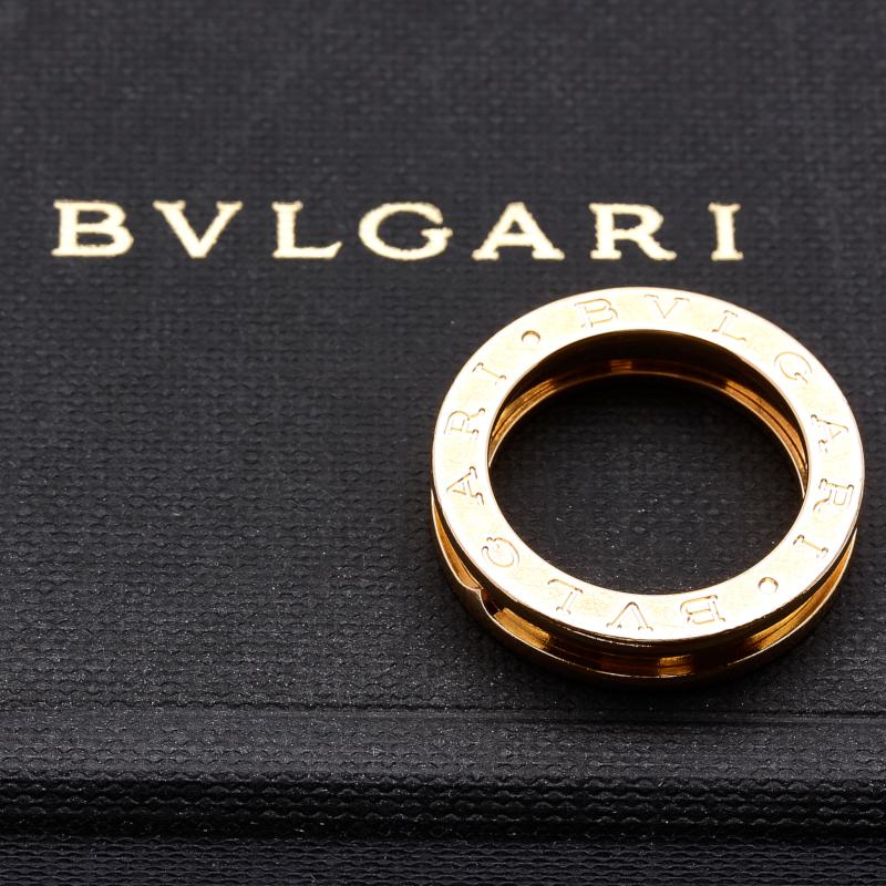 ブルガリB ZERO1指輪・リング アクセサリー K18YG イエローゴールド BVLGARI楽ギフ あす楽HYWEID29
