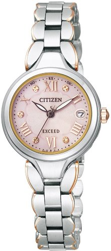 ES8044-70W シチズン 腕時計 エクシード レディース エコドライブ電波時計【smtb-k】【ky】【KK9N0D18P】