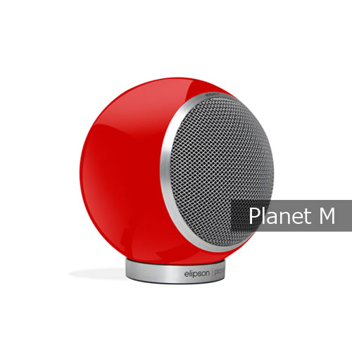 Planet-M-RED ワイズテック スピーカー Planet M RED 本体2個セット【KK9N0D18P】