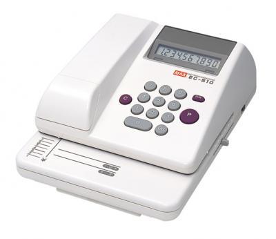 EC-510 マックス 電子チェックライタ  (CR-10956)【smtb-k】【ky】【KK9N0D18P】