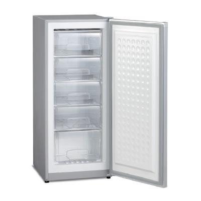 MA-144 三ツ星貿易 アップライト型冷凍庫 シルバーグレー 144L【smtb-k】【ky】【KK9N0D18P】