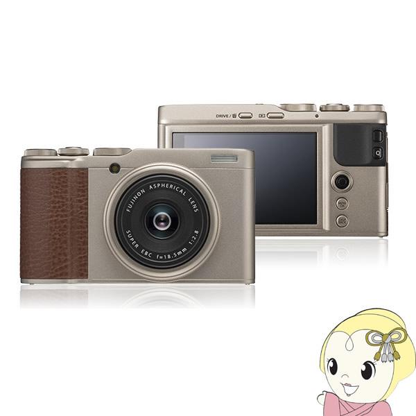 【キャッシュレス5%還元店】富士フイルム デジタルカメラ FUJIFILM XF10 [シャンパンゴールド]【smtb-k】【ky】【KK9N0D18P】