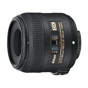 ニコン 標準マクロレンズ AF-S DX Micro NIKKOR 40mm f/2.8G 焦点距離:40mm 対応マウント:ニコンFマウント系【KK9N0D18P】