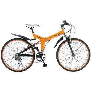 「メーカー直送」M-670-OR MY PALLAS(マイパラス) 26型折畳マウンテンバイク オレンジ【smtb-k】【ky】【KK9N0D18P】