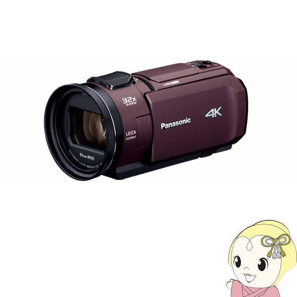 HC-VX1M-T パナソニック デジタル4Kビデオカメラ【smtb-k】【ky】【KK9N0D18P】