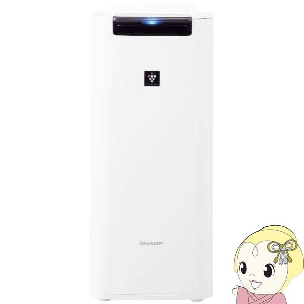 [予約]KI-JS40-W シャープ 加湿空気清浄機 [空気清浄:18畳/最大加湿:12畳/PM2.5対応]【smtb-k】【ky】【KK9N0D18P】