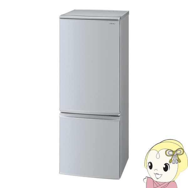 SJ-D17E-S シャープ 2ドア冷蔵庫167L つけかえどっちもドア シルバー系【smtb-k】【ky】【KK9N0D18P】