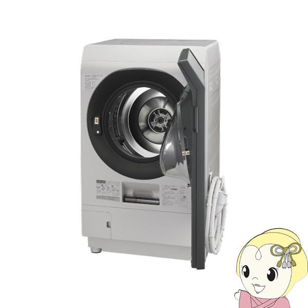 【設置込・右開き】ES-W111-SR シャープ ドラム式洗濯乾燥機11kg 乾燥6kg COCORO WASH シルバー系【smtb-k】【ky】【KK9N0D18P】