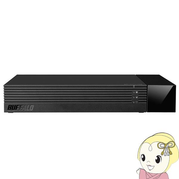 HDV-SAM4.0U3-BKA バッファロー テレビ録画専用設計 USB3.1(Gen1)/USB3.0用 外付けHDD 4TB 24時間連続録画対応【KK9N0D18P】