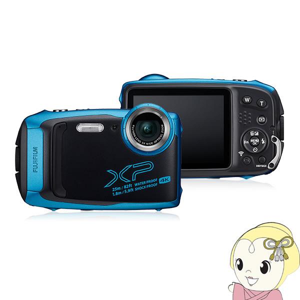 FFX-XP140-SB 富士フィルム デジタルカメラ FinePix XP140 [スカイブルー]【smtb-k】【ky】【KK9N0D18P】