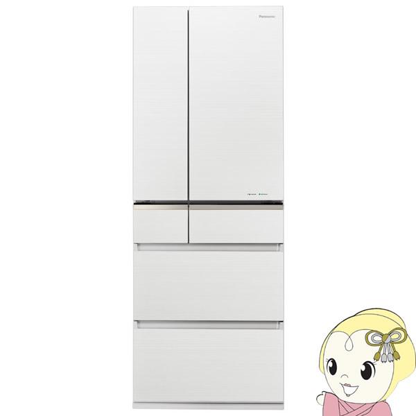【設置込】NR-F505XPV-W パナソニック 6ドア冷蔵庫501L XPVタイプ マチュアホワイト【smtb-k】【ky】【KK9N0D18P】