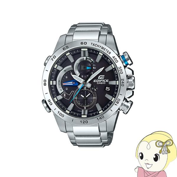 【あす楽】在庫あり 【逆輸入品】 カシオ 腕時計 EDIFICE エディフィス Bluetooth スマートフォンリンク EQB-800D-1A【smtb-k】【ky】【KK9N0D18P】