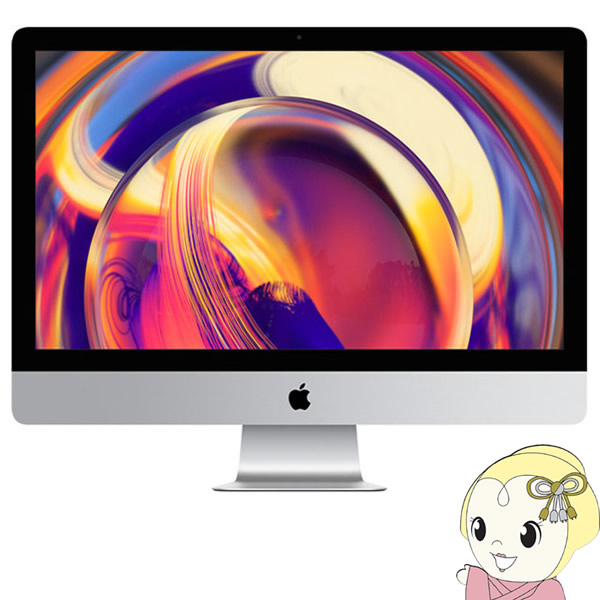 【キャッシュレス5%還元】Apple 27インチデスクトップパソコン iMac Retina 5Kディスプレイモデル MRR12J/A [3700]【KK9N0D18P】