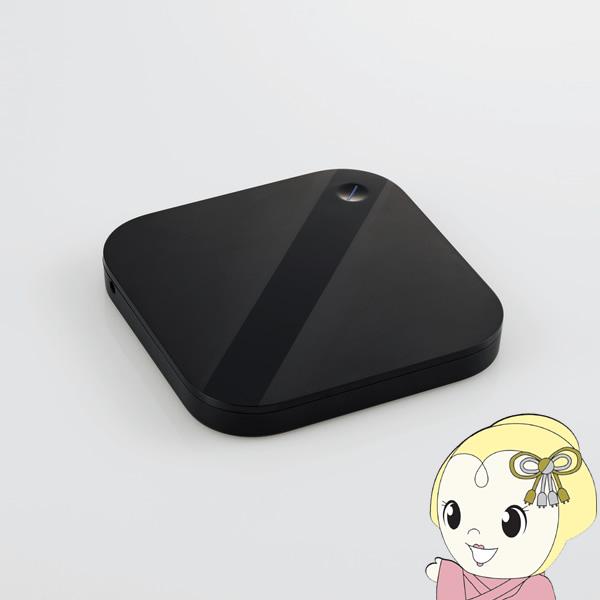 【キャッシュレス5%還元】ELP-SHU005UBK エレコム スマートフォン用 外付けHDD バックアップハードディスク 500GB【KK9N0D18P】