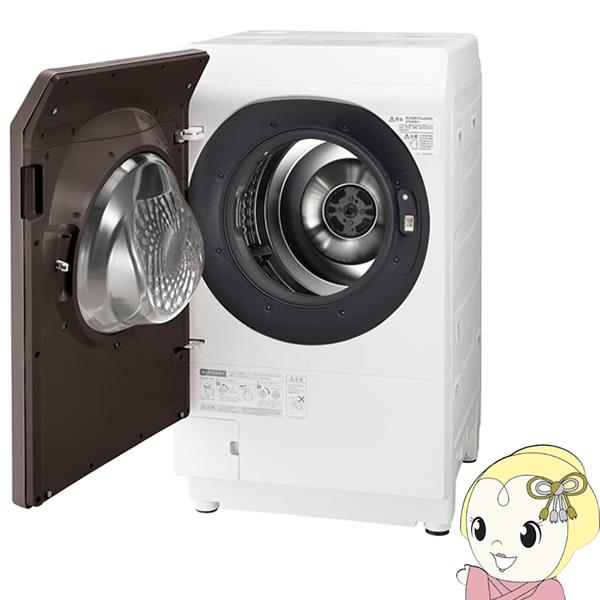 【設置込/左開き】ES-G112-TL シャープ ドラム式 洗濯乾燥機11kg 乾燥6kg ブラウン系【smtb-k】【ky】【KK9N0D18P】