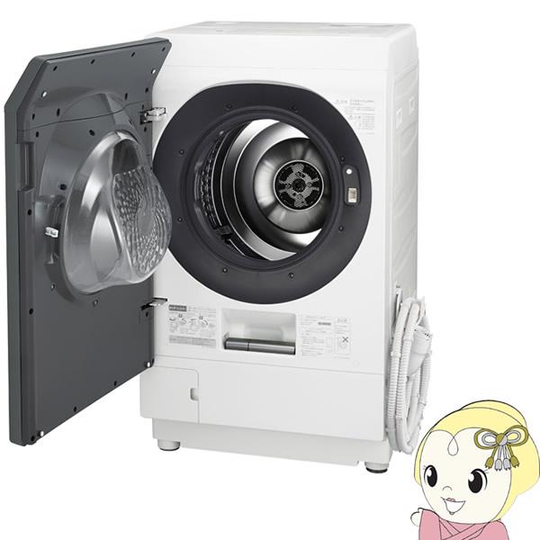 【設置込/左開き】ES-W112-SL シャープ ドラム式 洗濯乾燥機11kg 乾燥6kg シルバー系【smtb-k】【ky】【KK9N0D18P】