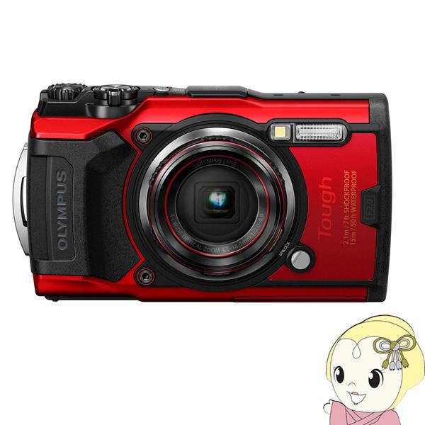 OLYMPUS コンパクトデジタルカメラ Tough TG-6 [レッド]【KK9N0D18P】