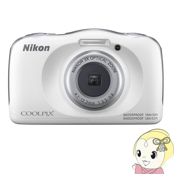[予約]ニコン コンパクトデジタルカメラ COOLPIX W150 [ホワイト]【KK9N0D18P】