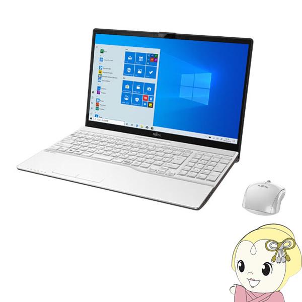 【キャッシュレス5%還元】FMVA77D3W FMV LIFEBOOK AH77/D3 15.6型ノートパソコン [プレミアムホワイト]【KK9N0D18P】