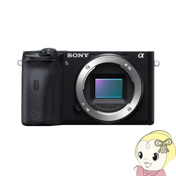 ソニー ミラーレス 一眼レフ カメラ α6600 ILCE-6600 ボディ【KK9N0D18P】