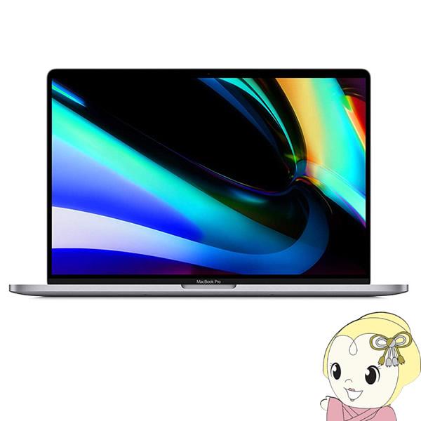 【キャッシュレス5%還元】Apple 16インチ TouchBar搭載 MacBook Pro Retinaディスプレイ 2600/16 MVVJ2J/A [スペースグレイ]【KK9N0D18P】
