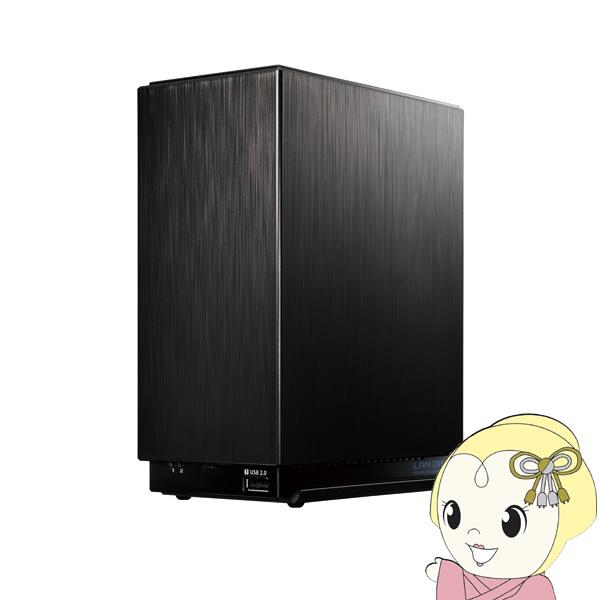 IOデータ デュアルコアCPU搭載 NAS ネットワークHDD [6TB] HDL2-AAX6【KK9N0D18P】