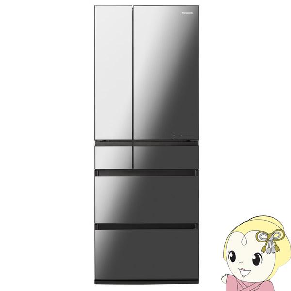 [予約 約3~4週間以降]【設置込】パナソニック 6ドア パーシャル搭載 冷蔵庫 550L 幅68.5cm NR-F556WPX-X【KK9N0D18P】