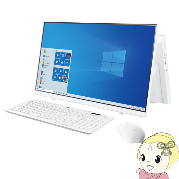 【キャッシュレス5%還元】NEC 23.8インチ デスクトップパソコン LAVIE Home All-in-one HA370/RAW PC-HA370RAW [ファインホワイト]【KK9N0D18P】