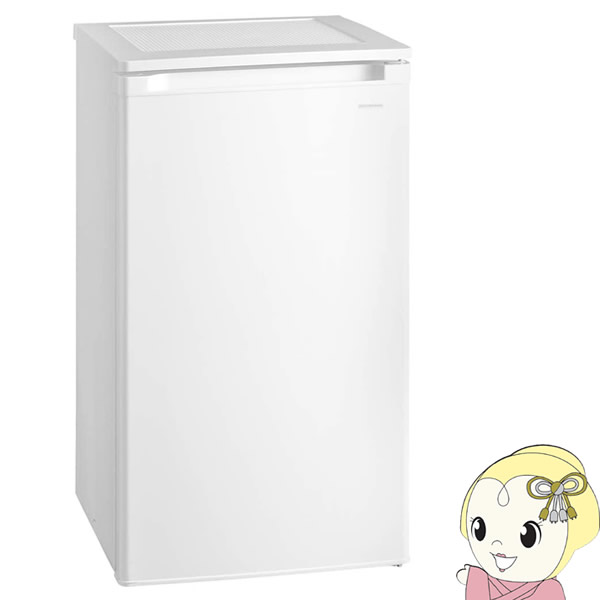 【冷凍庫】 アイリスオーヤマ 60L 前開きタイプ ホワイト IUSD-6A-W【KK9N0D18P】