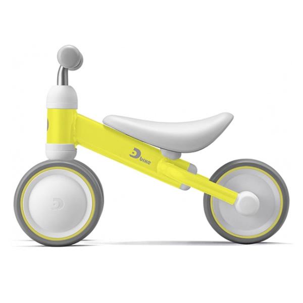 お求めやすく価格改定 セール品 送料無料 北海道 沖縄 離島除く メーカー直送 1歳のお誕生日プレゼントで選ばれています ides 三輪車 プラス mini KK9N0D18P D-bike イエロー