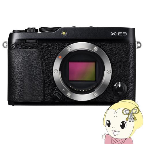 富士フイルム FUJIFILM ミラーレス一眼カメラ X-E3 ボディ [ブラック]【smtb-k】【ky】【KK9N0D18P】