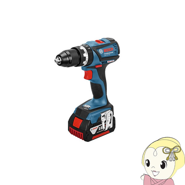 ケース・バッテリー2個・充電器付 ボッシュ コードレス振動ドライバードリル GSB18V-21 BOSCH 【お買い得】