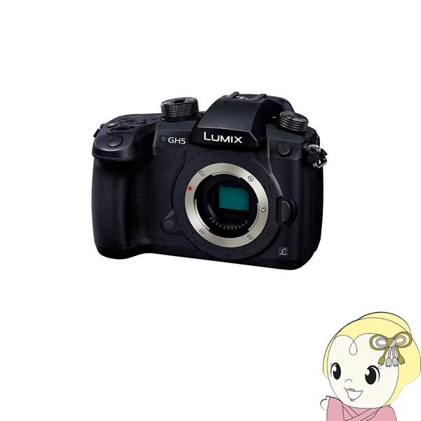 パナソニック 4K/60p動画対応ミラーレス一眼カメラ LUMIX DC-GH5 ボディ 2033万画素【KK9N0D18P】
