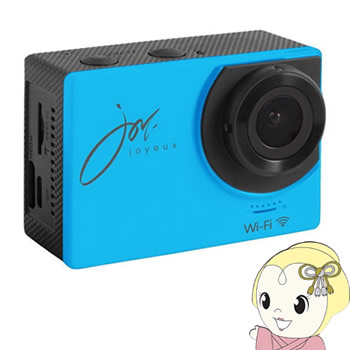 SVC100BL ジョワイユ Wi-Fi アクションカメラ【KK9N0D18P】